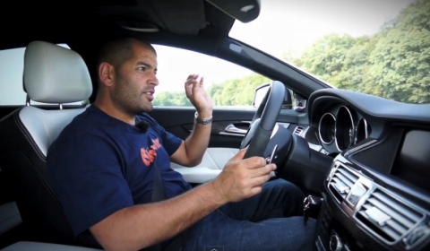 Video Chris Harris Drives Mercedes-Benz CLS 63 AMG Shooting Brake