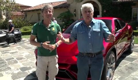 Video Jay Leno Meets Sesto Elemento and Urus SUV Concept