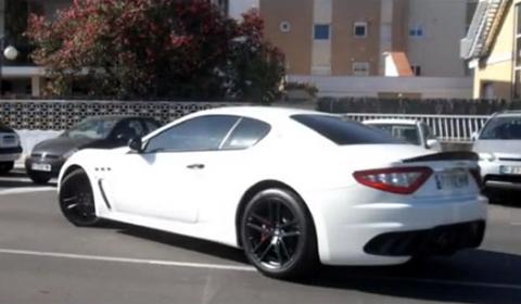 Video Lionel Messi Drives Maserati GranTurismo MC Stradale