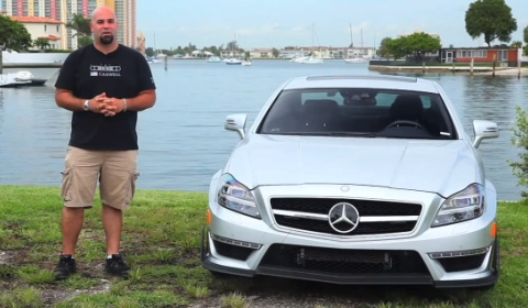 Video Matt Farah Drives 700hp RennTech CLS 63 AMG