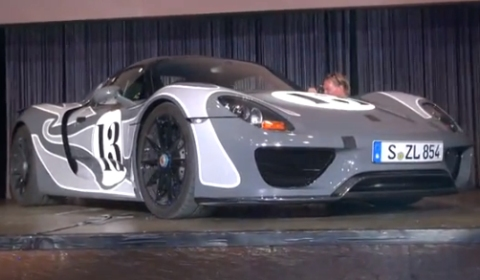 Video Porsche 918 Spyder Development Prototype at Gran Turismo Nurburgring 2012