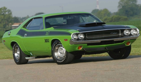 Column American Muscle Cars