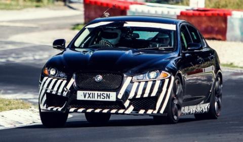 Spyshots Jaguar XFR-S