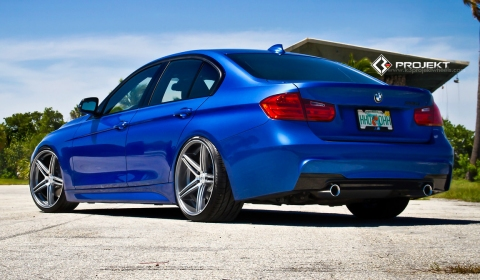 135isport 2012 Blue on K3 Projekt Wheels Shared This 2013 Bmw 335i In Estoril Blue Ii With Us