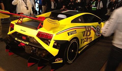 2013 Lamborghini Gallado Super Trofeo