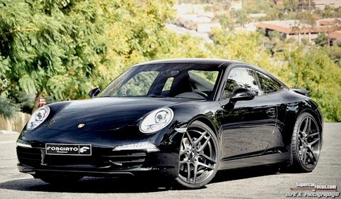 2013 Porsche 911 on Forgiato Wheels