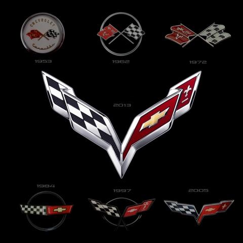 2014 Corvette Logo 01