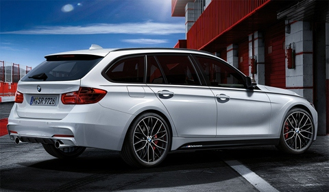 BMW 3 Series Touring M Performance Parts