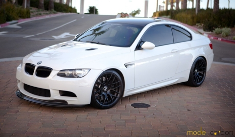 BMW M3 Snow White by Mode Carbon