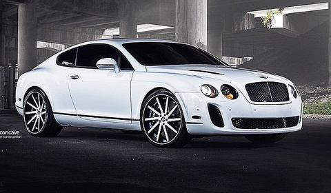 Bentley Continental Supersport on Vellano wheels