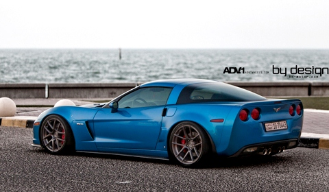 By Design Corvette Z06 on Advance one wheels
