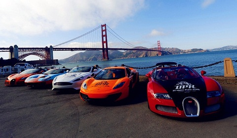 Chinese Supercar Owners Complete Dragon Path Rally