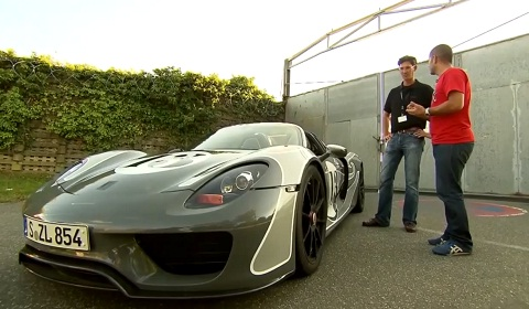Chris Harris Takes a Ride in the Porsche 918 Spyder