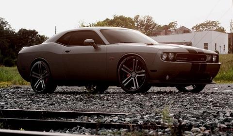 Dodge Challenger on Vossen Wheels
