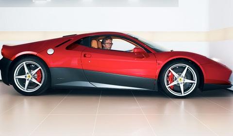 photo of Eric Clapton Ferrari SP12 EC - car