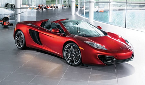 For Sale Neiman Marcus Edition 2013 McLaren 12C Spider