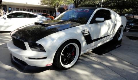Ford Mustangs at SEMA 2012