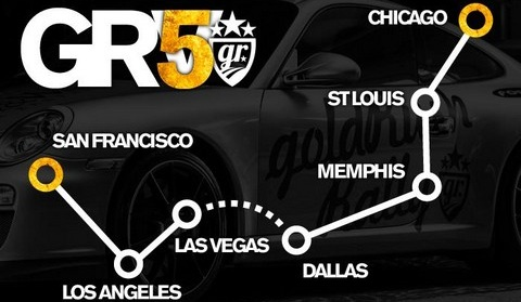 GoldRush V Route