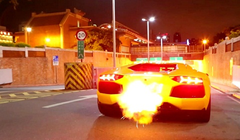 Innotech Exhaust for the Lamborghini Aventador LP700-4