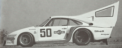 Jean Claude Rude Henri Pescarolo Porsche 935