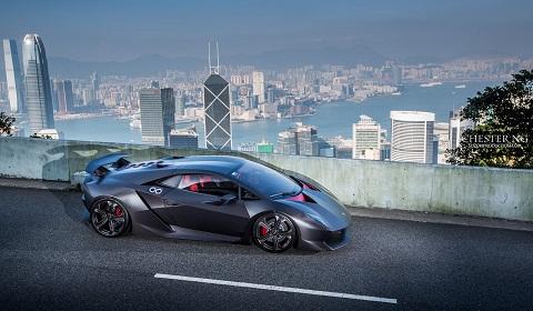 Lamborghini Sesto Elemento in Hong Kong by Chester Ng