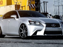 Lexus GS on Vossen Wheels
