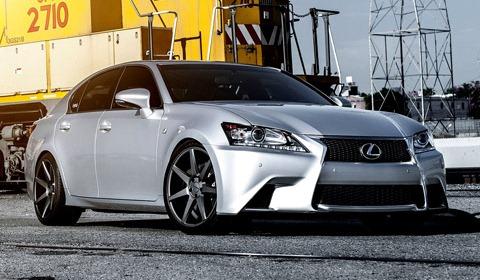 Lexus GS on Vossen Wheels