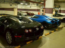 Local Garage Chinese Supercar Dealership FFF Automobile