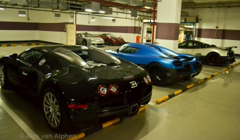 Local Garage Chinese Supercar Dealership FFF Automobile
