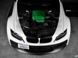 Matte White Widebody BMW E92 M3 by EAS