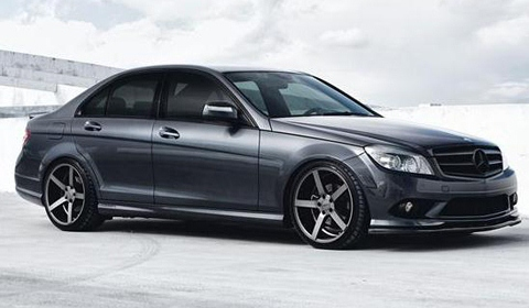 Mercedes Benz C-Class on Vossen Wheels