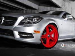 Mercedes-Benz CLS 550 on K3 Projekt Wheels