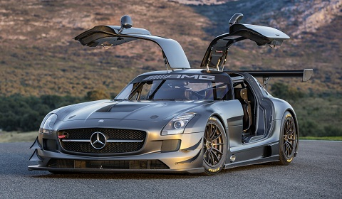 Mercedes-Benz SLS AMG GT3 45th Anniversary