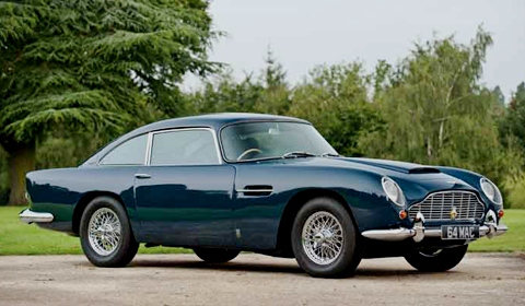 Paul McCartney 1964 Aston Martin DB5