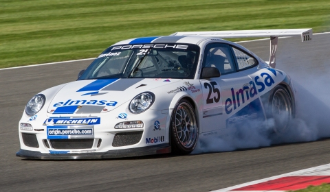 Porsche Carrera Cup GB at Silverstone October 2012