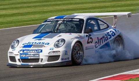 """MARCAR: Mathias: """"Le daré mi Mundial de Porsche a Yeray, yo no lo quiero, él se lo merece más"""" Porsche-Carrera-Cup-GB-at-Silverstone-October-2012"""