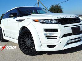 Range Rover Evoque with Hamann widebody Kit