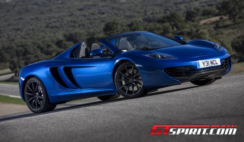 Road Test 2013 McLaren 12C Spider 02
