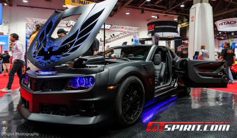 Sema 2012 650hp Blackbird Trans Am Supercharged Gtspirit