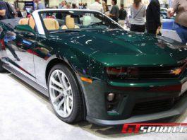 SEMA 2012 Chevrolet Camaro ZL1 Touring Convertible Concept