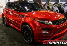 SEMA 2012 Hamann Range Rover Evoque