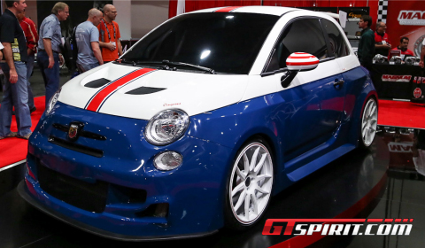 SEMA 2012 Romeo Ferraris Cinquone Stradale USA Tribute