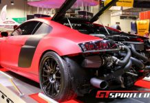 SEMA 2012 Underground Racing Twin-Turbo Audi R8 GT