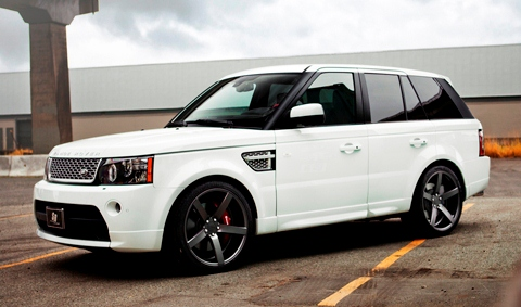 SR Auto Range Rover on Vossen Wheels