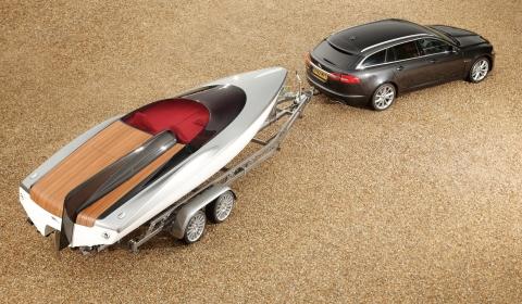 Speedboat Concept for Jaguar XF Sportbrake