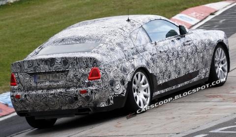 Spyshots Rolls-Royce Ghost Fastback at Nurburgring 01
