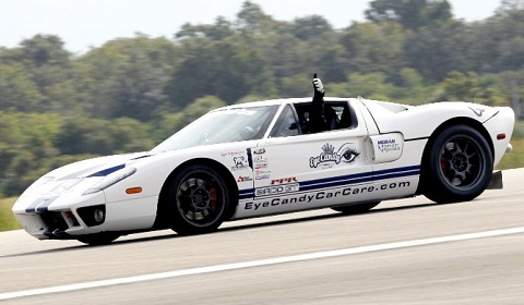 Standing Mile Record Set by a Ford GT
