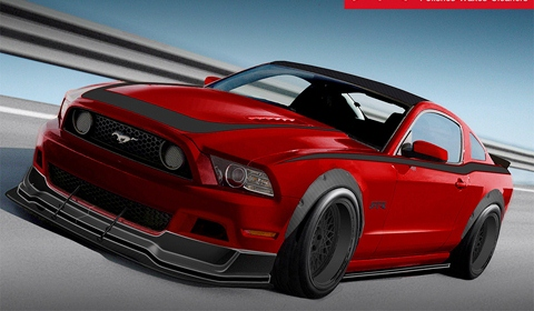 The Mothers 2013 Ford Mustang GT SEMA 2012