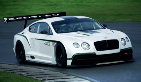 Video Bentley Continental GT3 Concept in Action