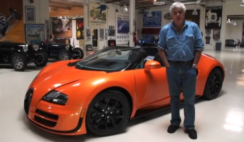 Video Bugatti Veyron 16.4 Grand Sport Vitesse in Jay Leno's Garage